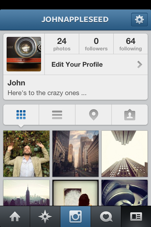 Image of Instagram for iPhone